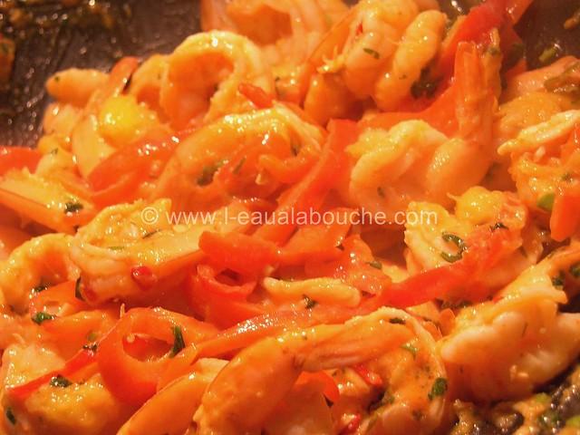 Crevettes Thaï à la Mangue © Ana Luthi Tous droits réservés 000009