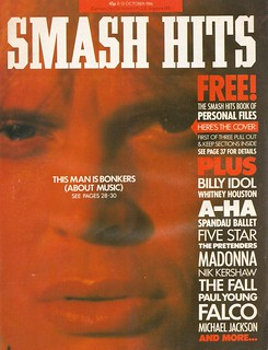 Smash Hits, October 08, 1986
