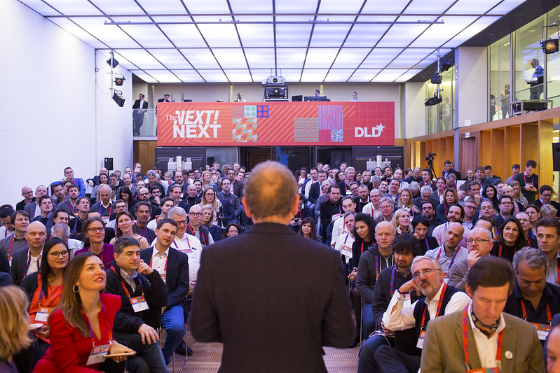 "DLD*16Conference –""THE NEXT NEXT"" – Munich, Germany, Jan2016 © Jason Andrew."