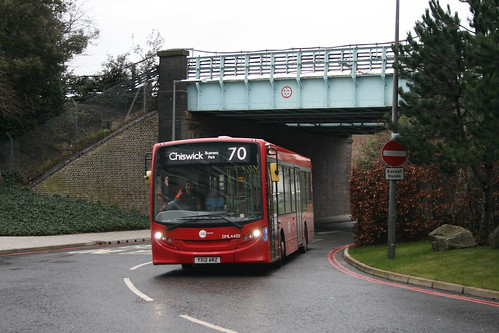 Tower Transit DML44321 on Route 70, Chiswick Business Park