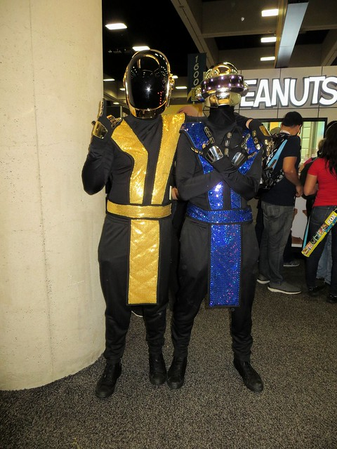 Mortal Kombat Daft Punk