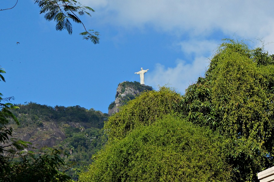 The Redeemer Statue at a Distance