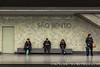 Sao Bento Metro Station, Porto, Portugal