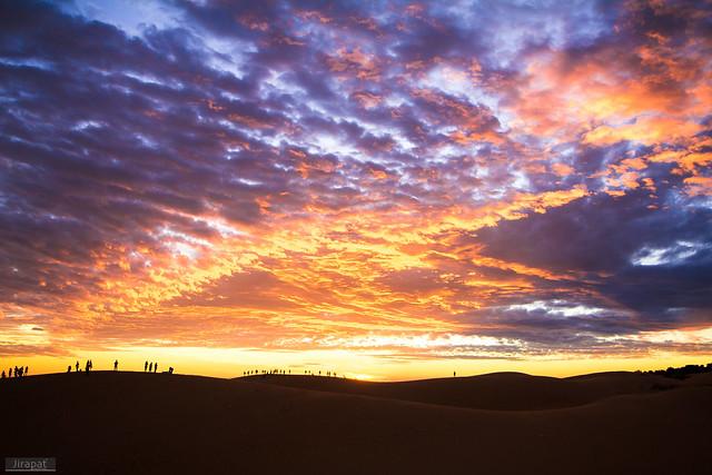 Sky from above, Muine