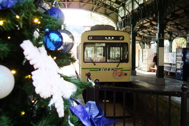2016/01 叡山電車×NEW GAME! ラッピング車両 #41