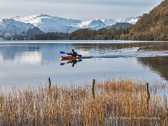 Winter Canoe
