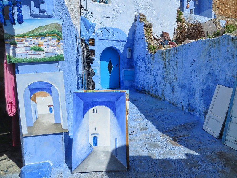 A Case of the Chefchaouen Blues