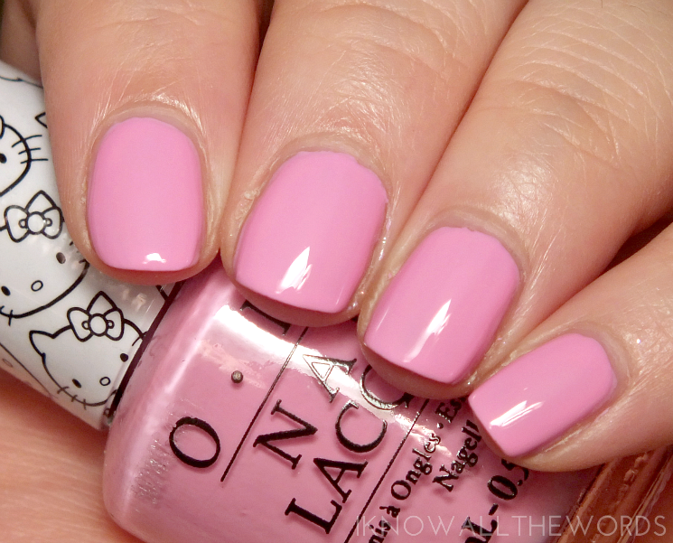 Hello Kitty collection by OPI Look at my Bow!