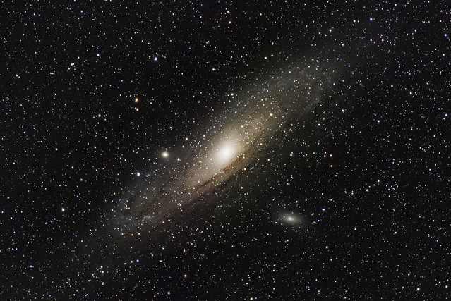 Andromeda Galaxy over Tampa Bay