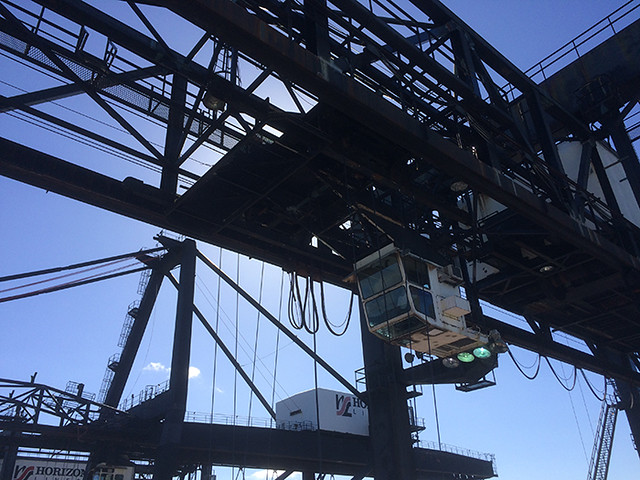 gantry crane detail
