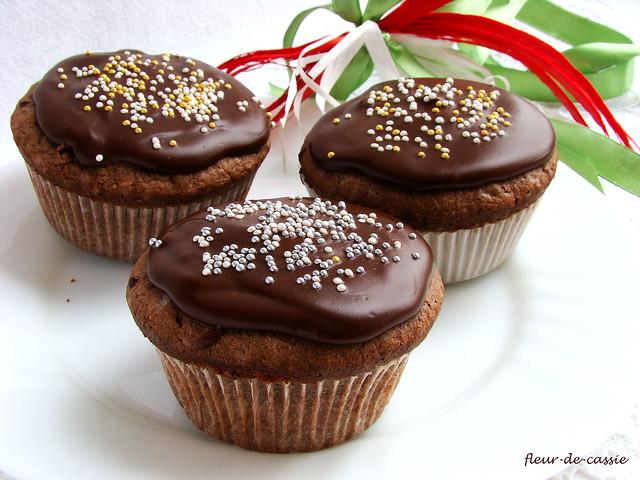 шоколадные капкейки 1