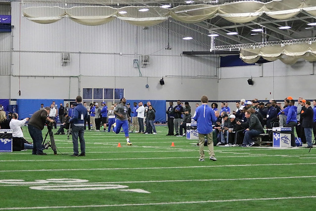 UK Football Pro Day
