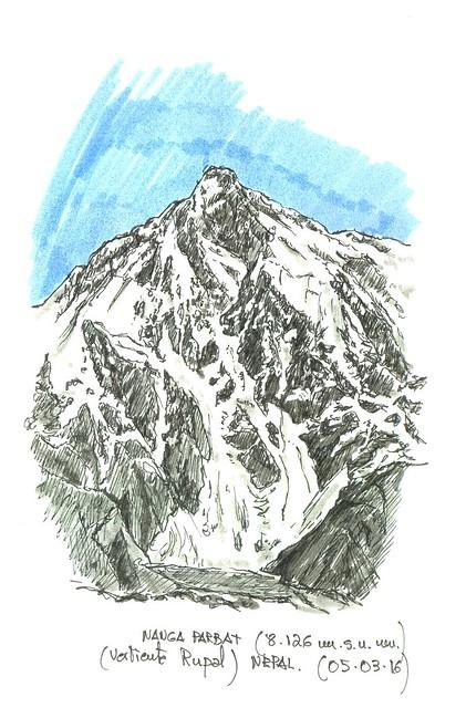 Nanga Parbat (8.126 m.s.n.m.)