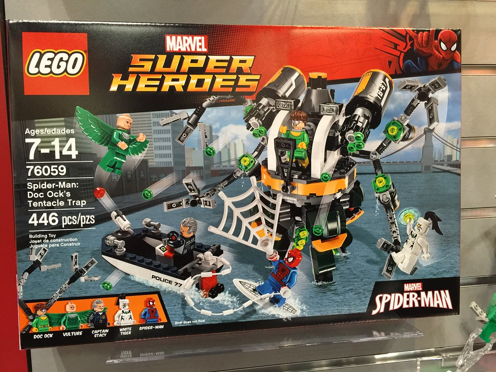Brickpicker Ock's ManDoc Trap 76059 Spider Tentacle Superheroes A5RjL4