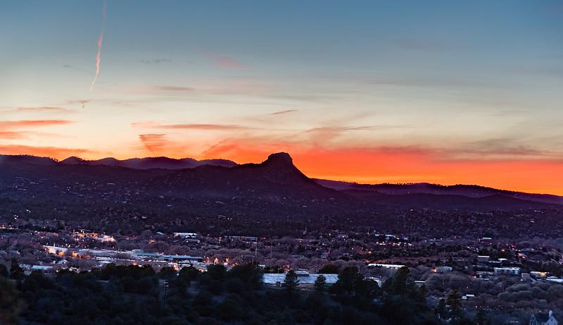 Prescott Sunset HDR