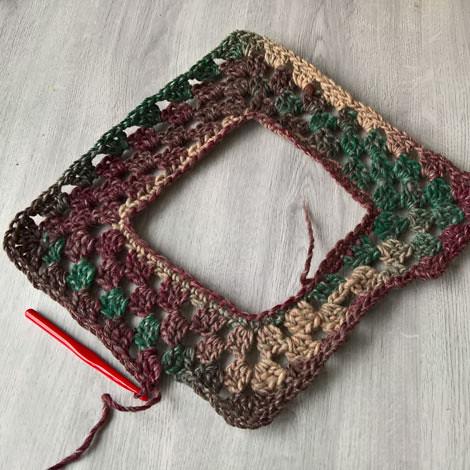 crochet Gaucho wip fail