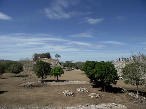 Mexico - Yucatan - Chichén Itzá; tropical landscape