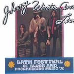 Johnny WInter at Bath Festival Progressive Music 1970