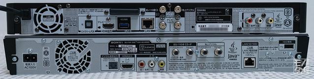 DBR-T670|BDZ-ET2000 比較3 背面
