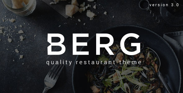 BERG v3.2.0 - Restaurant WordPress Theme