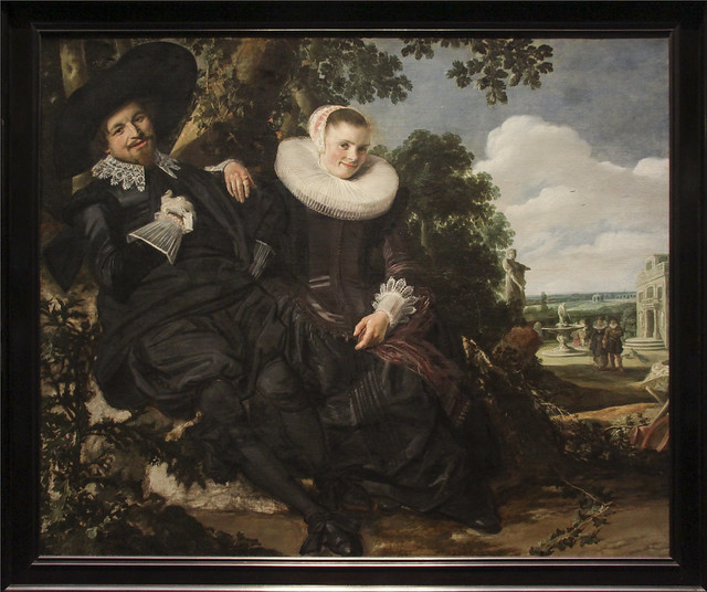 Portrait of a Couple, Probably Isaac Abrahamsz Massa and Beatrix van der Laen, Frans Hals, c.1622
