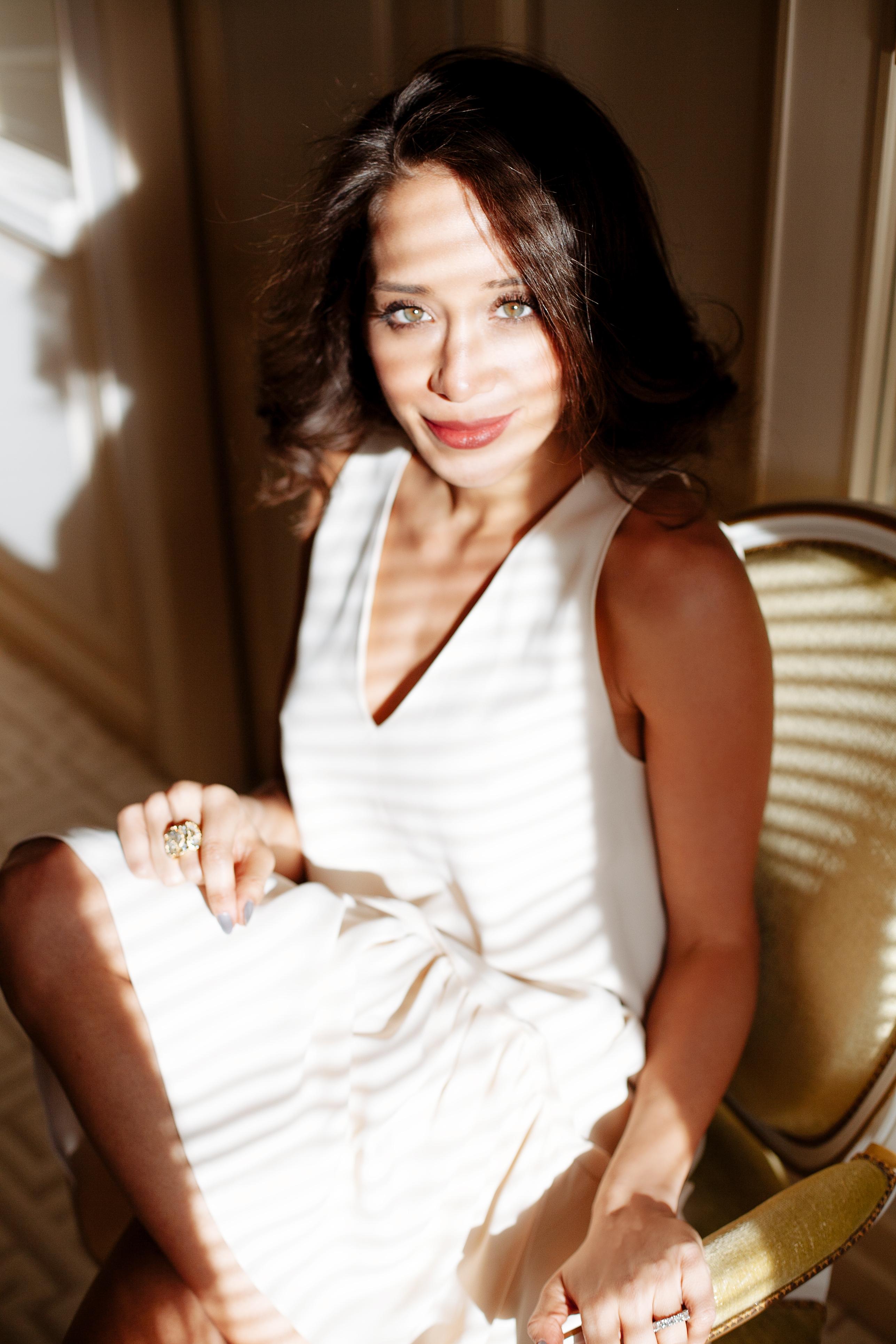 Lana El Sahely in Le Meurice