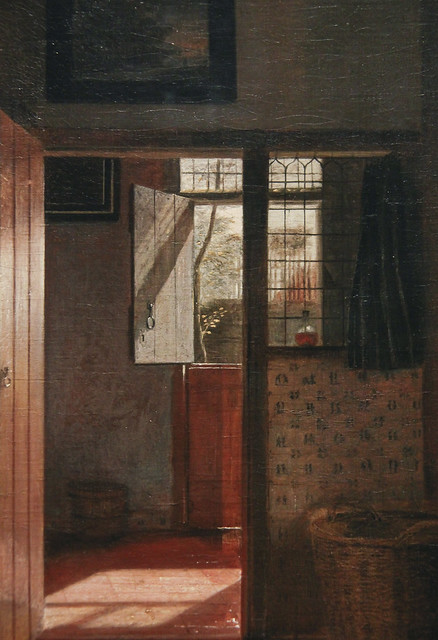 "A Mother Delousing her Chaild's Hair, Known as ""A Mother's Duty"", Pieter de Hooch, c.1658-60"