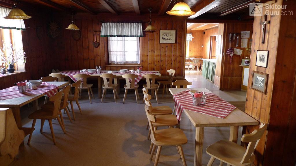 Franz Senn Hütte Stubaiské Alpy Österreich foto 07