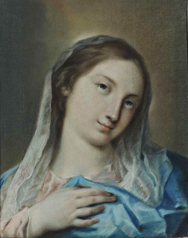 Rosalba Carriera - Scuola di. Madonna.