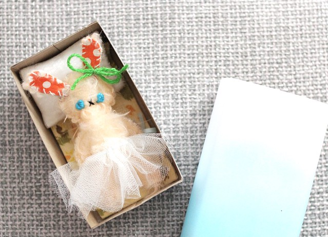 DIY Matchbox Doll