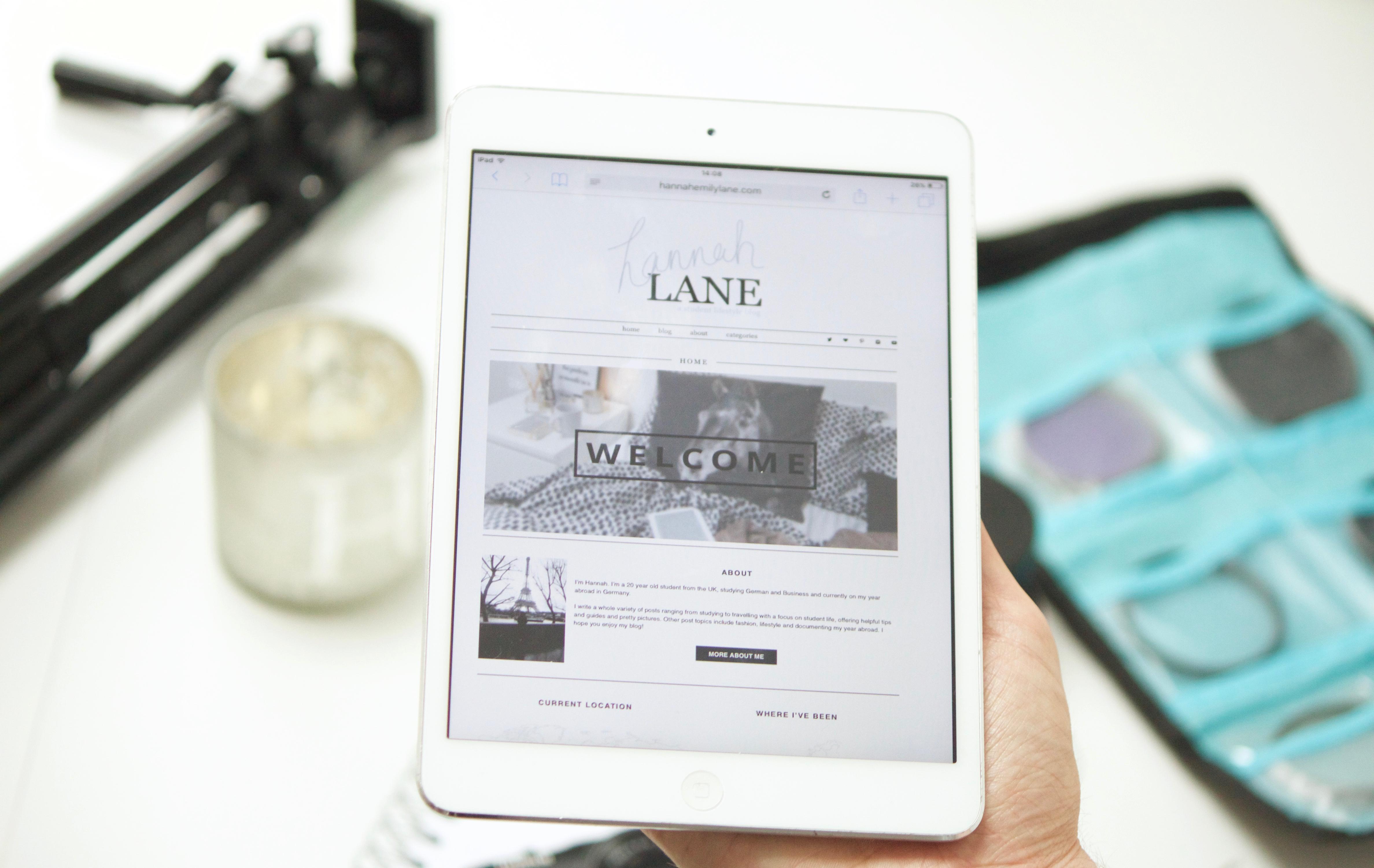 Blogging process | www.hannahemilylane.com