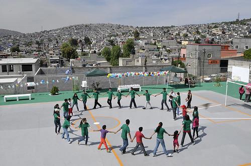 Mes Mundial de Servicio Comunitario_ Convivencia con niños