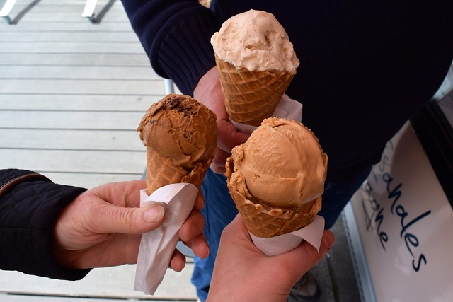 Local Ice Cream in Cancale, Brittany | www.rachelphipps.com @rachelphipps