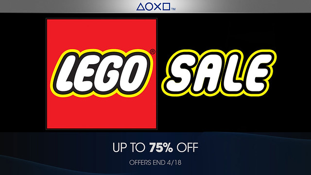 Franchise Sale - LEGO - PlayStation Blog