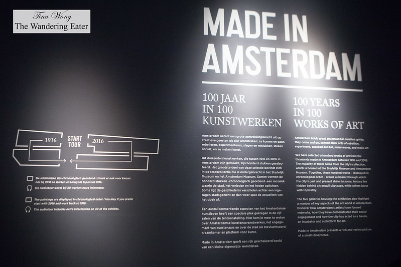 Made in Amsterdam - 100 Years in 100 Works of Art exhibition
