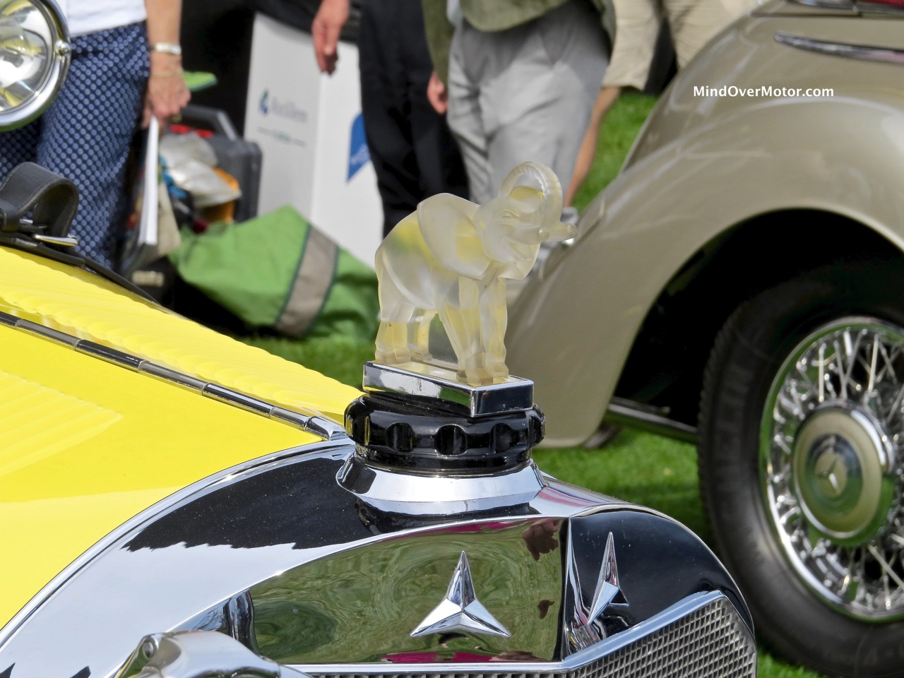 1928 Mercedes-Benz S Hood Ornament
