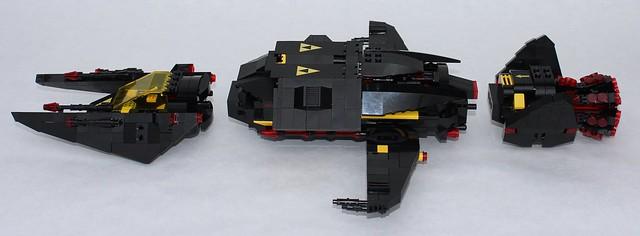Lego Blacktron Invader 3000
