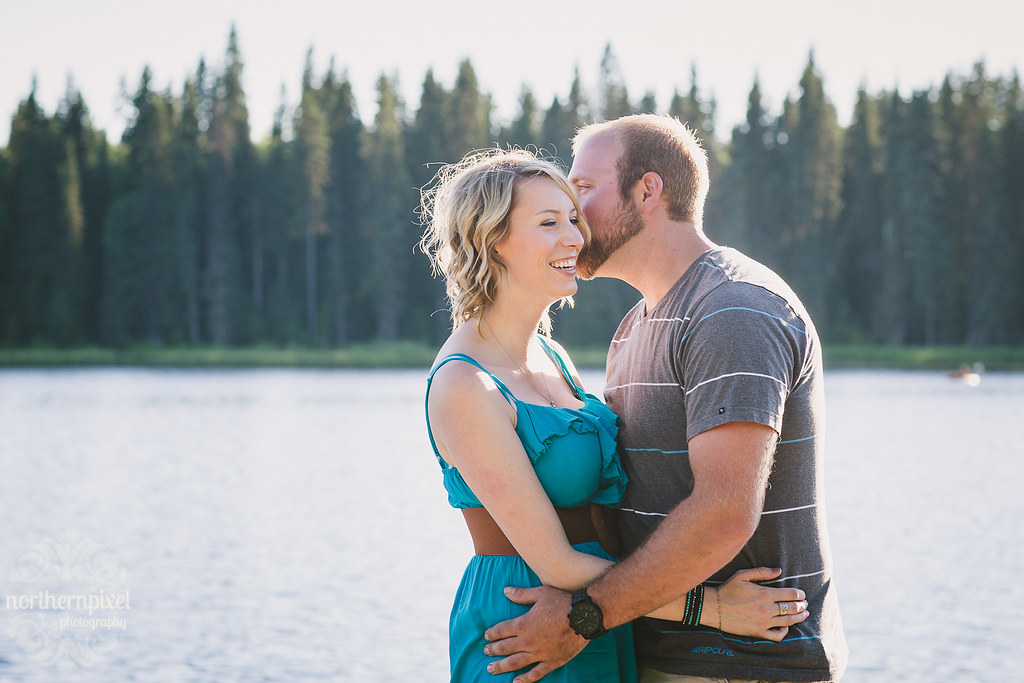 Engagement Session at the Lake