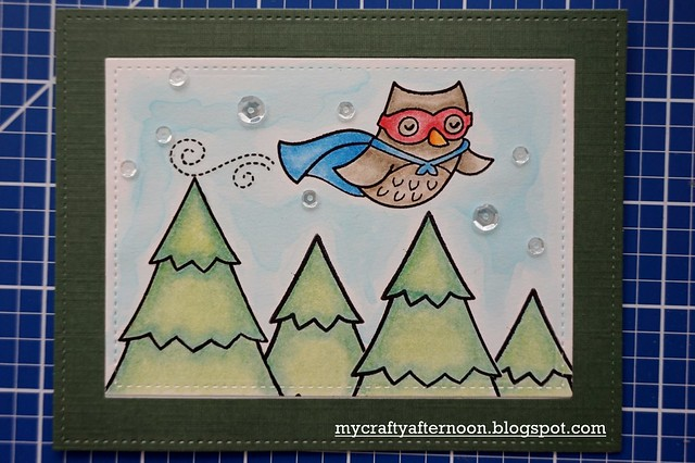 Thank You Card Series - Super Owl