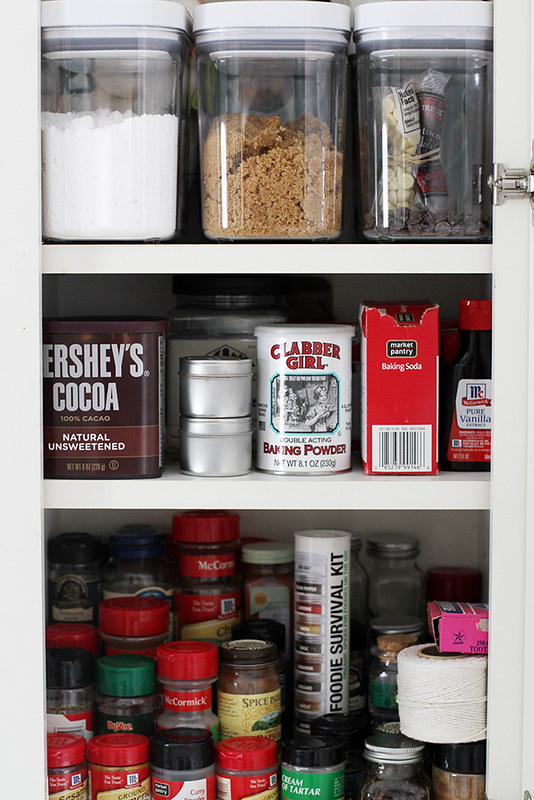A Baker's Dozen: Top 13 Tips for Organizing Baking Supplies | girlversusdough.com @girlversusdough