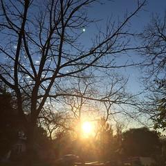 28 December 2015 #sunset #samespotforayear #nofilter