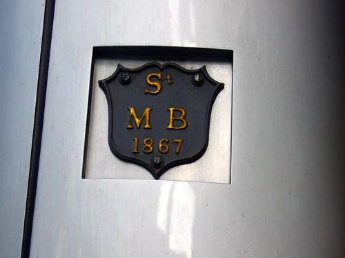 Parish Markers on Cannon Street
