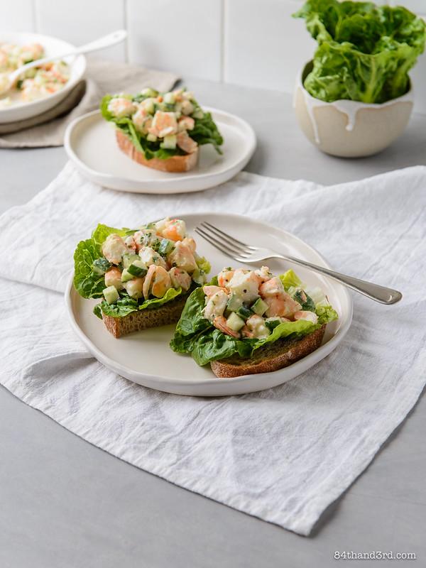 Prawn Salad Sandwiches