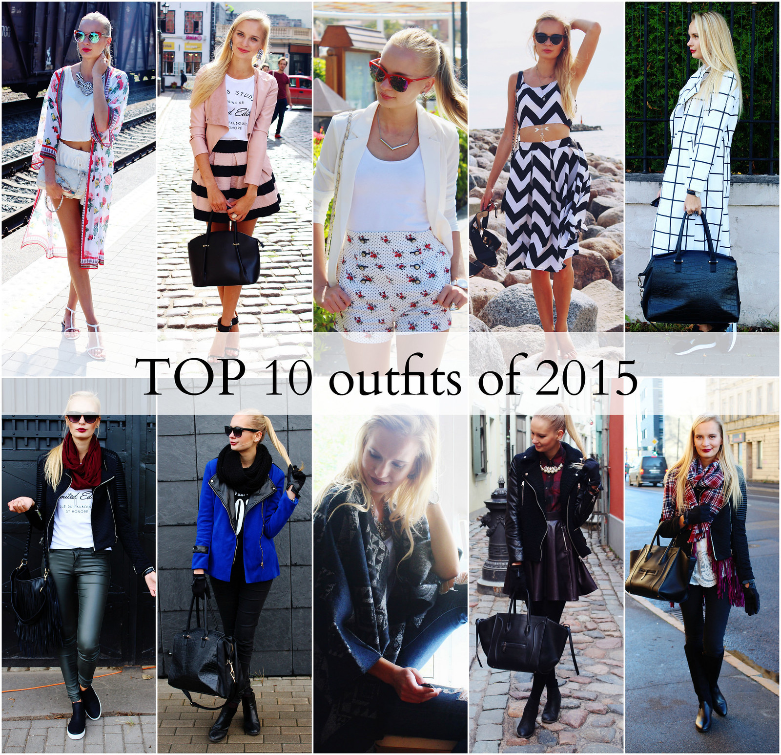 Fashion blogger TOP 10 outfits
