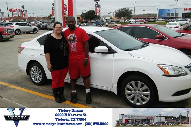 Victory Nissan Victoria Tx >> Congratulations Stephanie On Your Nissan Sentra From Jos