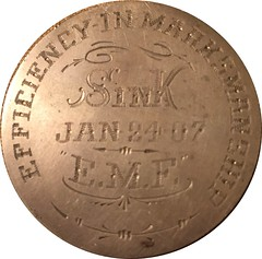 Efficiency In Marksmanship Medal obverse