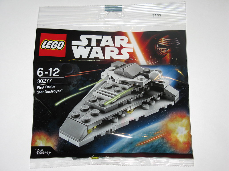 "Mini polybag Lego Star Wars 30277 First Order Star Destroyer /""/  LEGO Star Wars First Order Star Destroyer"