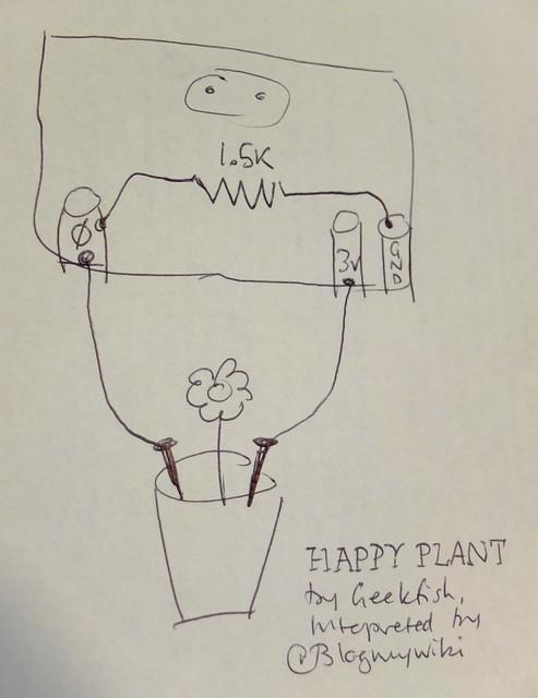 Happy Plant circuit diagram
