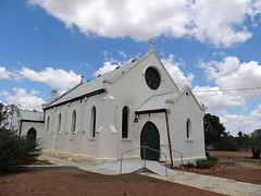 Rainbow Catholic Church. It was built in 1911 and is still in use.