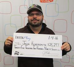 Jason Klinginsmith - $25,297 Instaplay Idaho Jackpot